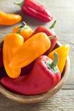 Peperoni dolci organici dolci Fotografie Stock Libere da Diritti