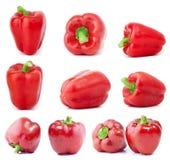 Peperoni dolci rossi Immagini Stock