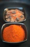 Peperoni dolci rossi Fotografia Stock