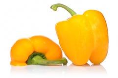 Peperoni gialli Immagini Stock