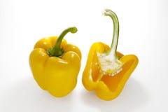 Peperoni gialli Fotografie Stock Libere da Diritti