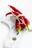 Peperoni roventi fotografie stock