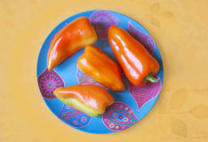 Peperoni variopinti Fotografia Stock