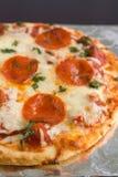 peperonipizza Royaltyfri Fotografi
