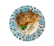 Pepian Sauce for Stewed Chicken Royalty Free Stock Photos