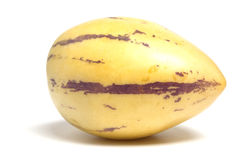 Pepino. A tropic fruit called Pepino Royalty Free Stock Images