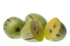 Pepino Dulce (Melon Pears) Isolated Stock Photos