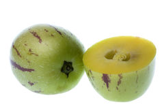 Pepino Dulce (Melon Pears) Isolated Royalty Free Stock Photo