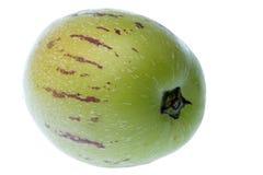 Pepino Dulce (Melone-Birne) getrennt Lizenzfreies Stockbild