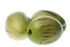 Pepino Dulce (peras del melón) aislado Fotografía de archivo