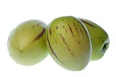Pepino Geïsoleerder Dulce (de Peren van de Meloen) Royalty-vrije Stock Foto