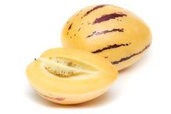 Pepino (muricatum do Solanum) fotos de stock royalty free