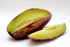 Pepino (Nachtschade Muricatum) Royalty-vrije Stock Fotografie