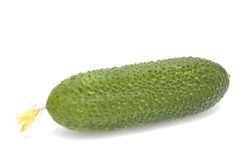 Pepino verde. Fotografía de archivo