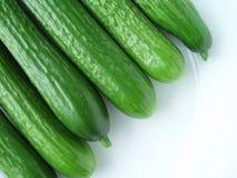 Pepino verde Foto de Stock
