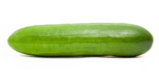 Pepino verde Fotografia de Stock