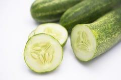 Pepino verde foto de archivo