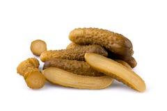 Pepinos conservados Imagem de Stock
