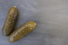 Pepinos salados Imagen de archivo