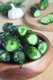 Pepinos salados - salmueras Fotografía de archivo libre de regalías