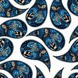 Pepinos turcos Ornamento inconsútil para las telas, papel pintado, CCB Fotos de archivo