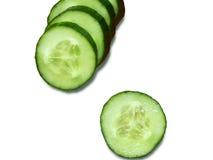 Pepinos verdes Fotografia de Stock