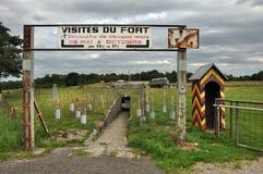 Fort de Tancremont Arkivbilder