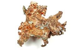 Pepita de cobre foto de stock