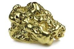 Pepita de oro imagen de archivo