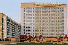 Pepita de oro, Atlantic City, New Jersey foto de archivo libre de regalías