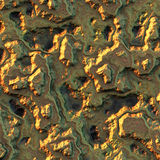 Pepita de oro de la textura. Imagen de archivo