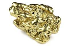 Pepita de ouro imagens de stock