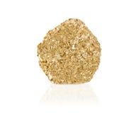 Pepita de ouro imagem de stock