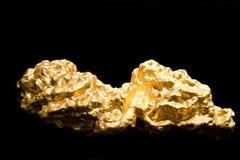 Pepita del oro Fotos de archivo libres de regalías