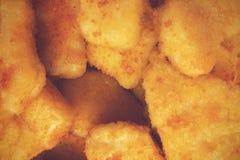Pepitas de galinha Fotografia de Stock Royalty Free