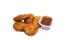 Pepitas de galinha Foto de Stock Royalty Free