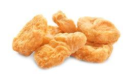 Pepitas de galinha saborosos Fotos de Stock Royalty Free