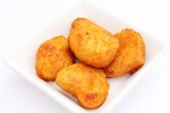 Pepitas de Mc del pollo Foto de archivo libre de regalías
