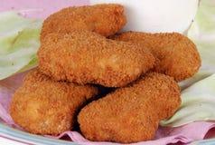 Pepitas de pollo Imagen de archivo