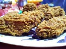 Pepitas de pollo fotografía de archivo