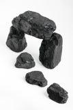 Pepitas del carbón Fotografía de archivo libre de regalías