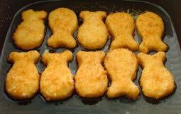 Pepitas dos peixes Fotos de Stock