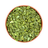 Pepitas in a small bowl Royalty Free Stock Photo