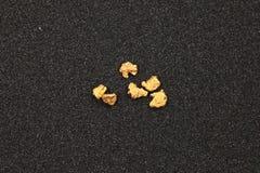 Pepite di oro Fotografia Stock Libera da Diritti