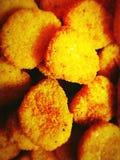 Pepite di pollo Fotografie Stock