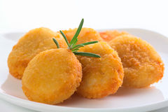 Pepite di pollo fresche Fotografie Stock