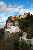 Pepoli castle, Erice, Sicily Stock Photos