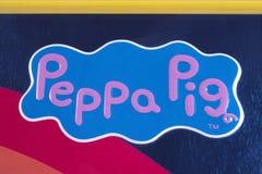 Peppa świni logo Obraz Royalty Free