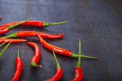 Peppar för röd chili Royaltyfria Bilder