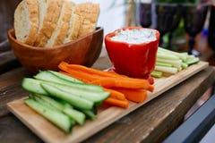 Peppar och grönsaker Royaltyfri Fotografi
